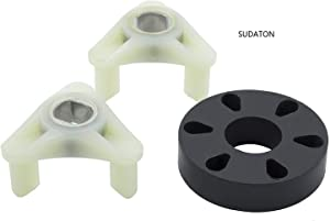 SUDATON Heavy Duty 285753A Motor Coupling kit for Direct Drive Whirlpool and Kenmore washers, Replacement Part Numbers 1195967, 285753AVP, 21003, 280152, 285140, 285743, etc