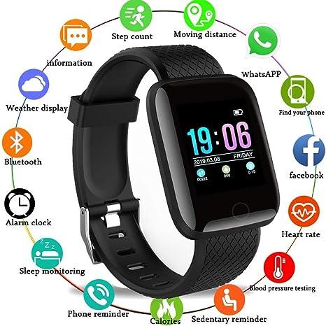 ZKLG Smart Watch para Hombres, presión Arterial, Resistente ...