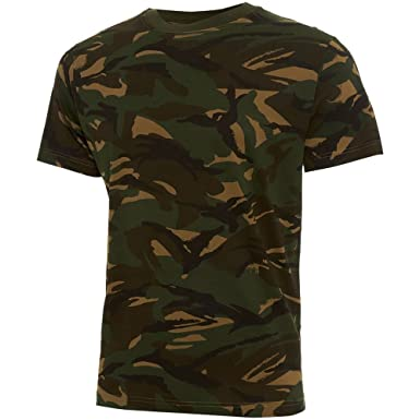 fea31bb5a Boys/Kids Soldier 95 Camo British Army Military Combat T-shirt Top DPM  Cadet NEW: Amazon.co.uk: Clothing