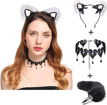 Pavian - Gargantilla para disfraz de gato: Amazon.es: Belleza