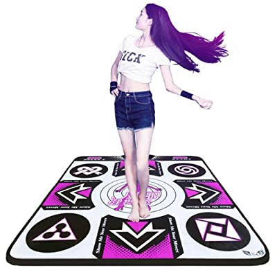 wly&home Dance Board Wii, Dance Computer Weight Loss Machine, Adult Dance Mat, Computer-specific, Suitable for Adult/Kids Use
