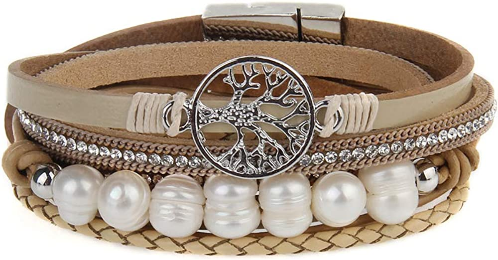 Popeoiuh Leather Bracelets...