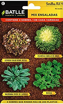 Huerto Urbano - Mix Ensaladas - HU - Batlle: Amazon.es: Jardín