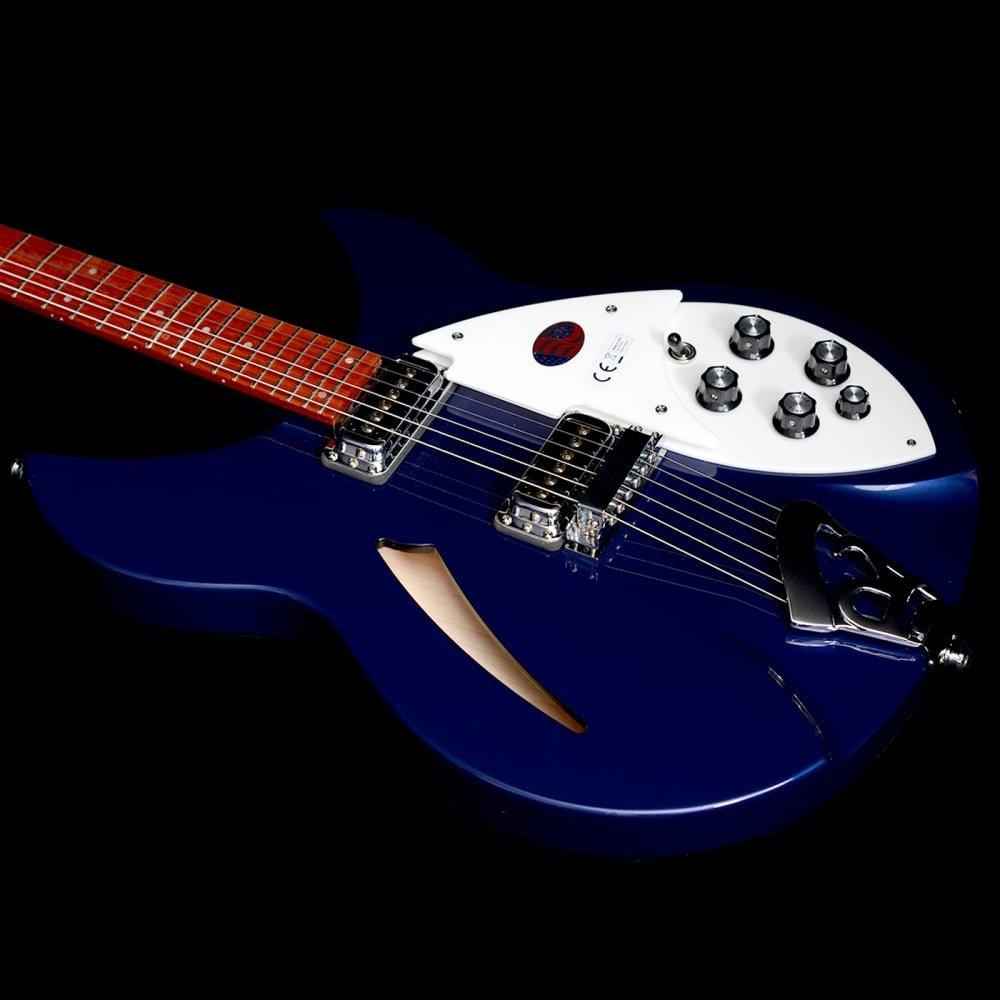 Rickenbacker rn330mid S de guitarra 330 Midnight Azul: Amazon.es: Instrumentos musicales