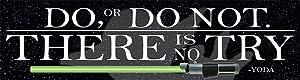 "Eureka Star Wars""Do, or Do Not"" Classroom Decoration Banner for School Teachers, 12.5"" W x 18"" L"