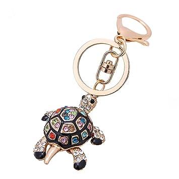 Amazon.com: Llavero decorativo con diseño de tortuga de ...