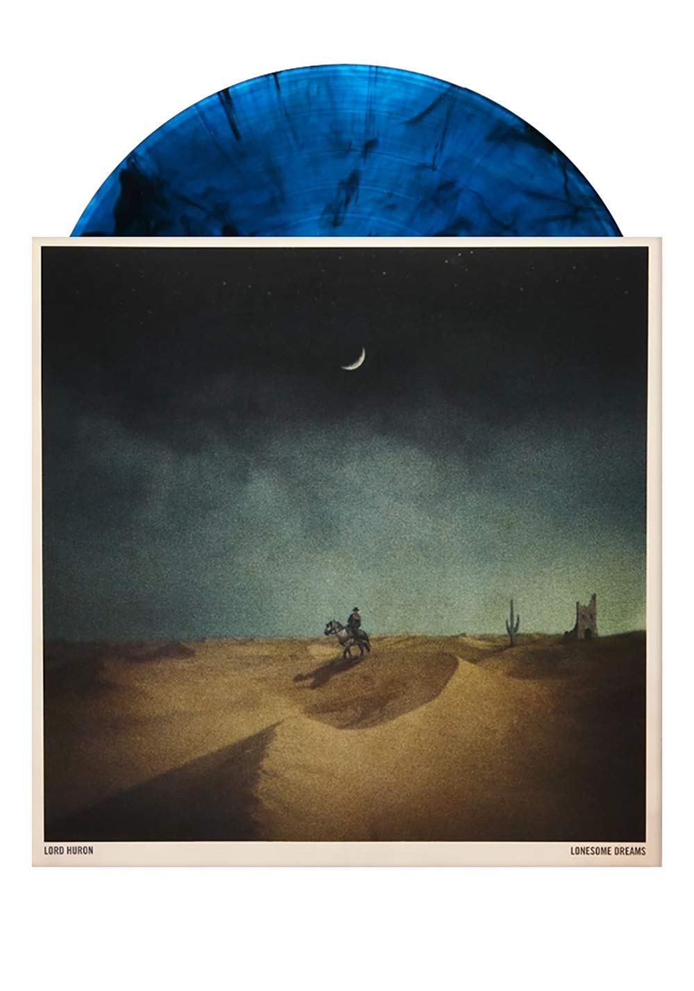 Lonesome Dreams - Exclusive Limited Edition Blue Smoke Colored Vinyl LP by IAmSound Records