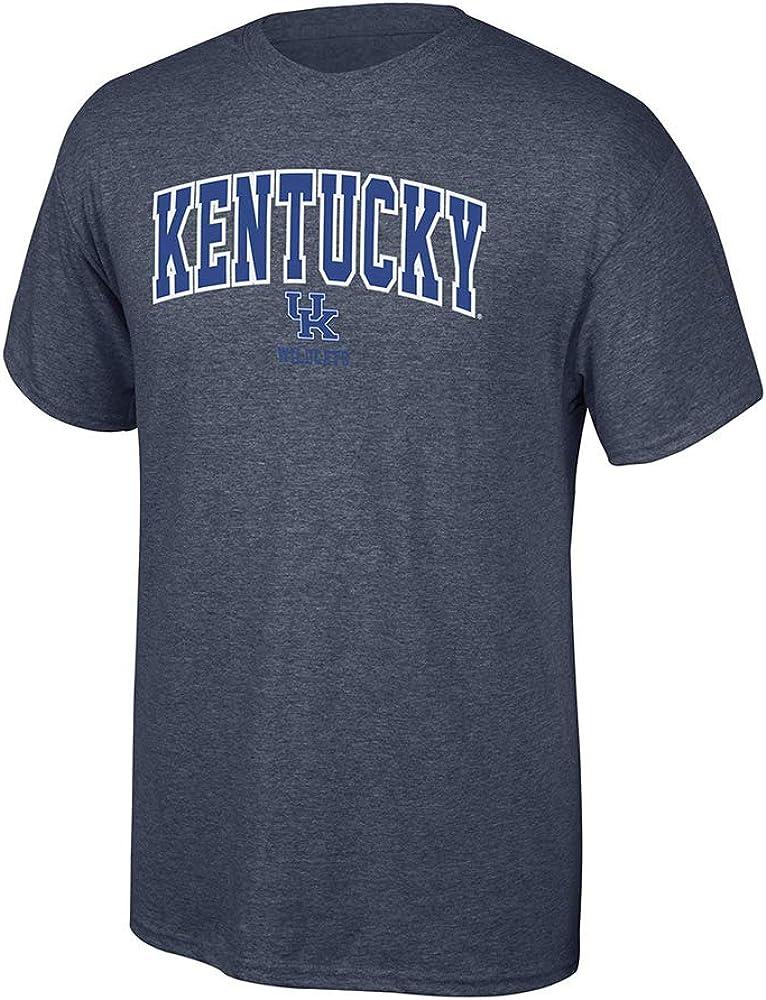 Elite Fan Shop NCAA Mens T Shirt Dark Heather Arch