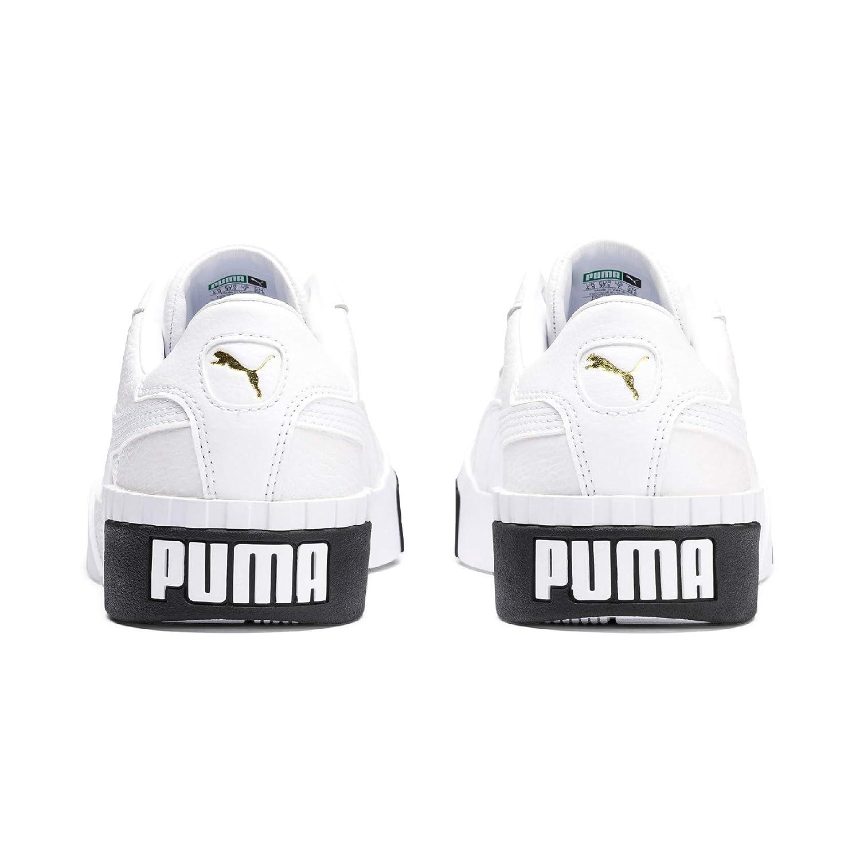 Amazon.com | Puma Womens Cali WNs Low-Top Sneakers, White Black 04, 8.5 UK | Fashion Sneakers