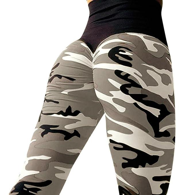Sport Leggings Sporthose Yogahose Fitnesshose Printed Strumpfhosen für Damen