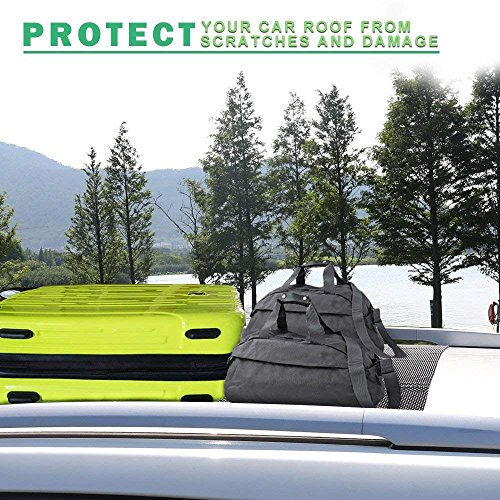 Egofine Car Roof Protective Mat Car Roof Carrier Bags Extra Padding Car Roof Mat Under Any Rooftop Cargo Bag by Egofine (Image #4)