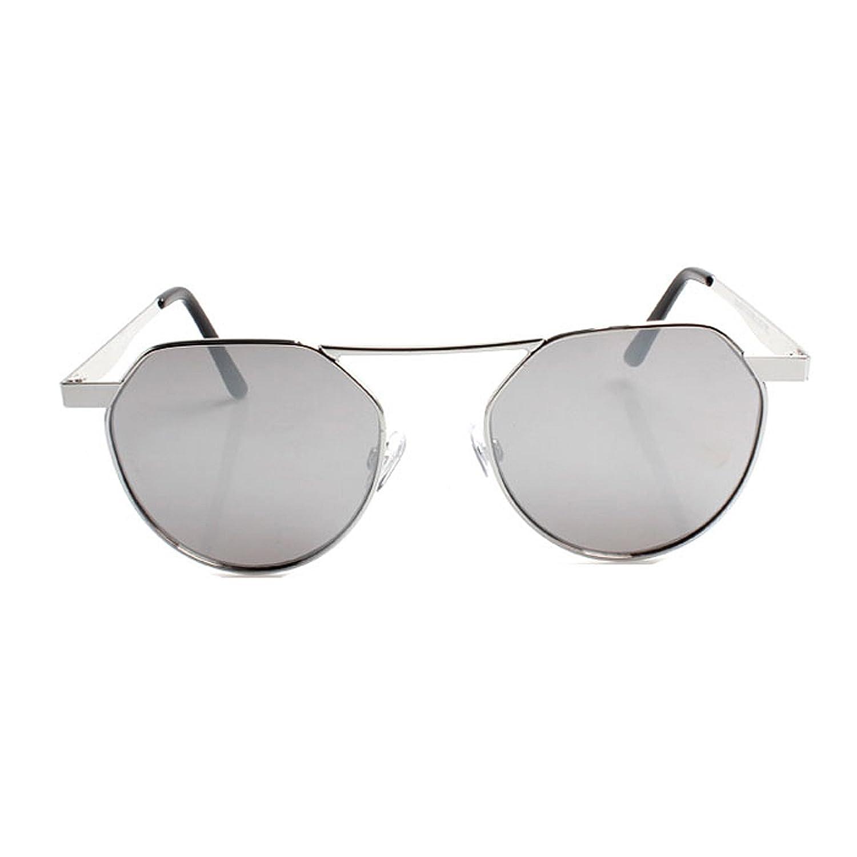 325a22c16c Accessoryo - Gafas de sol - Gafas de sol - para mujer plateado plata Talla  única