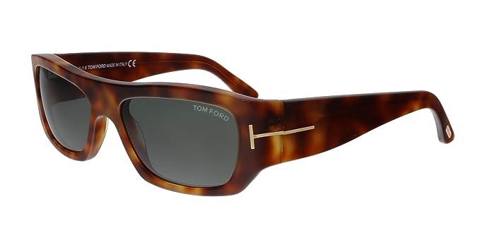 Amazon.com: Tom Ford FT0593 53N Rodrigo-02 - Gafas de sol ...
