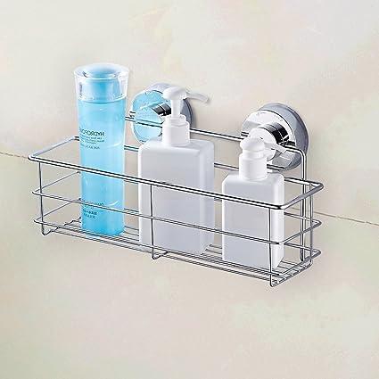 ... Wall Mounted Bath Shelf Stainless Steel Shower Caddy Storage ...