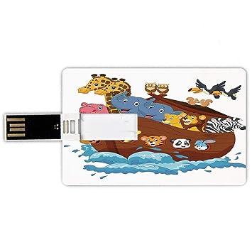 8GB Forma de tarjeta de crédito de unidades flash USB Arca ...