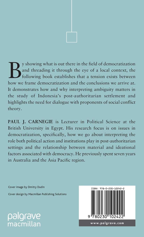 Positive developments in post-Suharto Indonesia