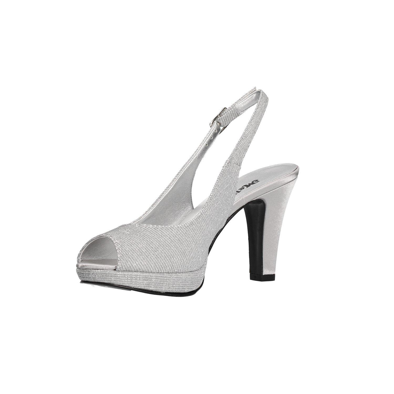 Melluso Décolleté Spuntate argentoo Scarpe Donna Elegante Elegante Elegante J519 c343a6