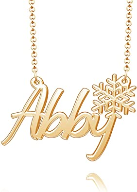 Classy Necklace Irene Real Gold Plated Name New