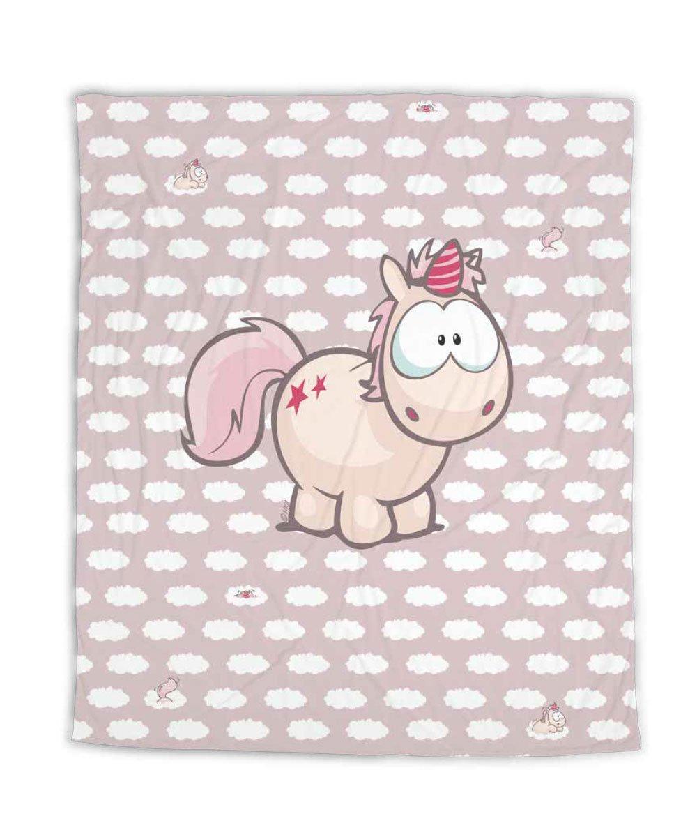 Nici Unicorns Theodor and Friends Cuddly Blanket 125 x 160 cm