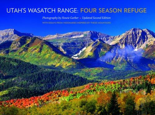 Utah's Wasatch Range: Four Season - City Salt Utah City Creek Lake