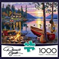 Buffalo Games Darrell Bush: Canoe Lake Jigsaw Bigjigs Puzzle (1000 Piece) from Buffalo Games
