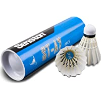 Senston Veerballen 6 stuks duurzame badminton ballen