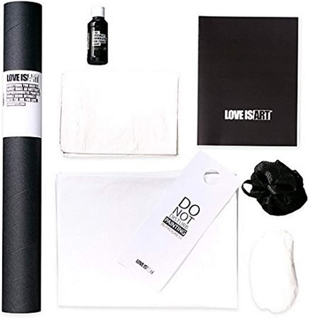 Amazon Com Love Is Art Canvas And Paint Kit Abstract Art Through Intimacy Health Personal Care