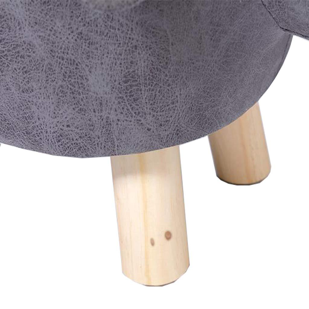 DLDL Moda Moda Moda Zapatos creativos Banco Taburete casa escabel (Color : Caqui) ca6f28