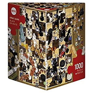Heye Puzzle Bianco O Nero 1000 Pezzi 8793