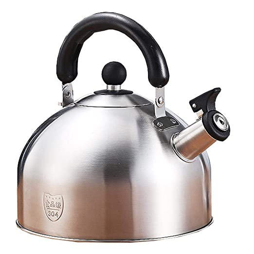 Whistling Water Kettle Stovetop Inducción Acero inoxidable ...