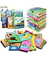 teytoy My First Soft Book, Nontoxic Fabric Baby...