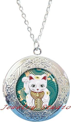 Encanto medallón Flotante De Gato