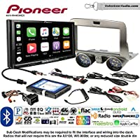 Volunteer Audio Pioneer AVH-W4400NEX Double Din Radio Install Kit with Wireless Apple CarPlay, Android Auto, Bluetooth Fits 2010-2015 Chevrolet Camaro