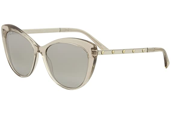 Versace 0VE4348 Gafas de sol, Transparente Rose Brown, 57 ...