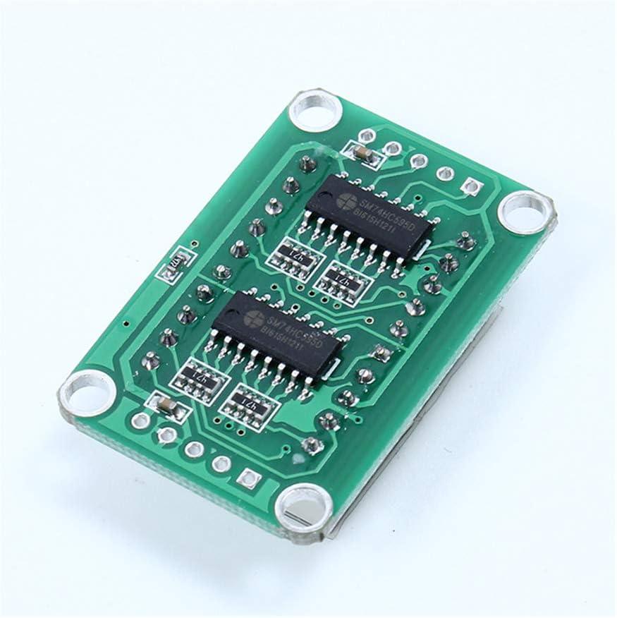 5Pcs 74HC595 Red Display Static Driving 2 Digital Segment 0.5/'/' Display Module