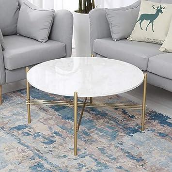 Amazon Com Hcklk Mid Century Modern Round Coffee Table For Living