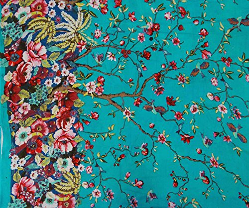 blue-fabric-cotton-material-44-wide-designer-fabric-for-sewing-by-the-yard