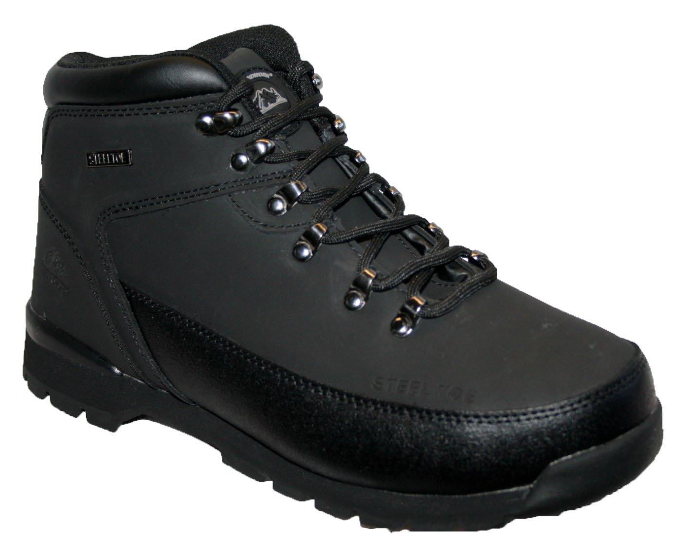 Groundwork GR66, Zapatos de Seguridad Unisex, Negro, 44 EU (10 UK)