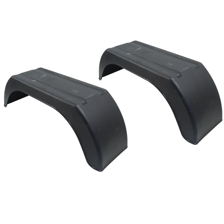 Mudguard for Trailer Wheels 8' Plastic Pair/Wing/Fender TR001