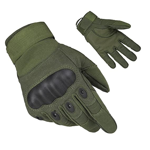 AOHAN Herren Taktische Handschuhe Motorrad Handschuhe Touchscreen Fahrrad Handschuhe Outdoor Sport Handschuhe Army Gloves Ide