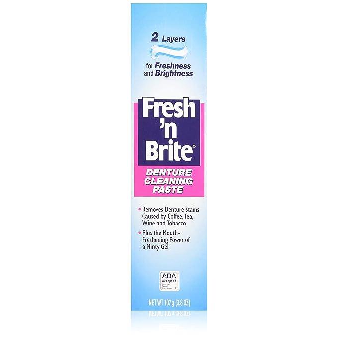 Freshn Brite Fresh N Brite protesi pulizia Incollare 3,80 ...