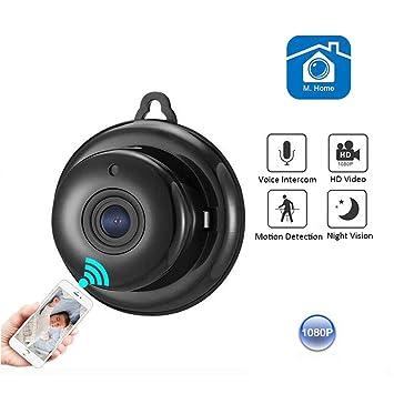 ZBAJIE Überwachungskamera Sicherheitskamera 1080P HD Drahtlose WLAN ...