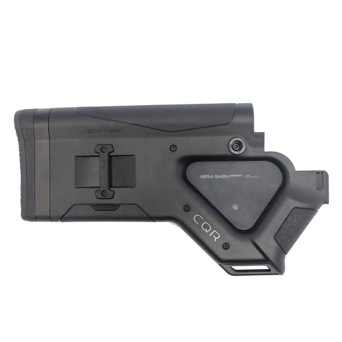 HERA Cqr Buttstock Black Ca Version Stock Accessories