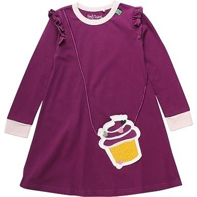 Freds World by Green Cotton Baby-M/ädchen Penguin Stripe Dress Kleid