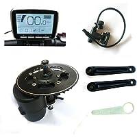 Tsdz2Mid Moteur central Conversion Ebike kit, Couple Sensor 36V 350W 42T Plateau de pédalier en Vélo électrique