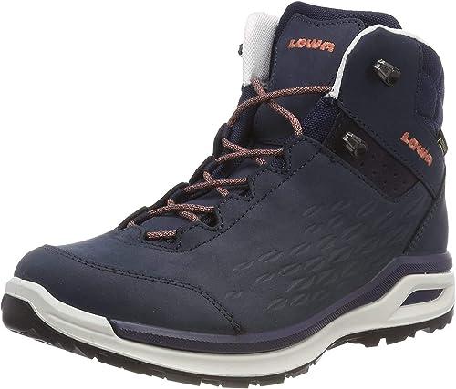 Lowa Women S Locarno Gtx Qc High Rise Hiking Boots Amazon Co Uk Shoes Bags