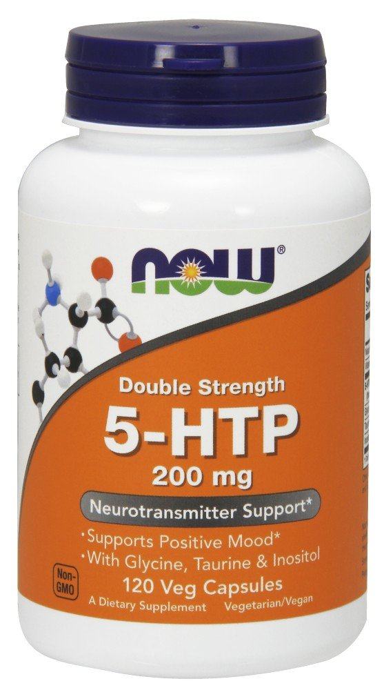 NOW® 5-HTP, 200 mg, 120 Veg Caps
