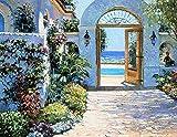 Hotel California Howard Behrens Europe Mediterranean Cityscape Poster (Choose Size, Print or Canvas)