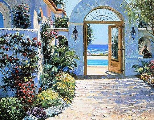 Hotel California Howard Behrens Europe Mediterranean Cityscape Poster (Choose Size, Print or Canvas)
