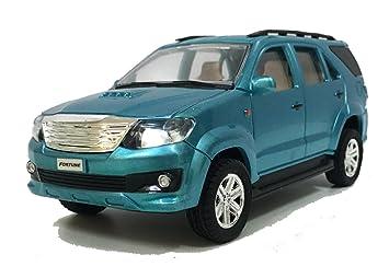 Buy Jack Royal Fortuner Miniature Toy Car Blue Online At Low